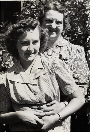 With her Daughter June